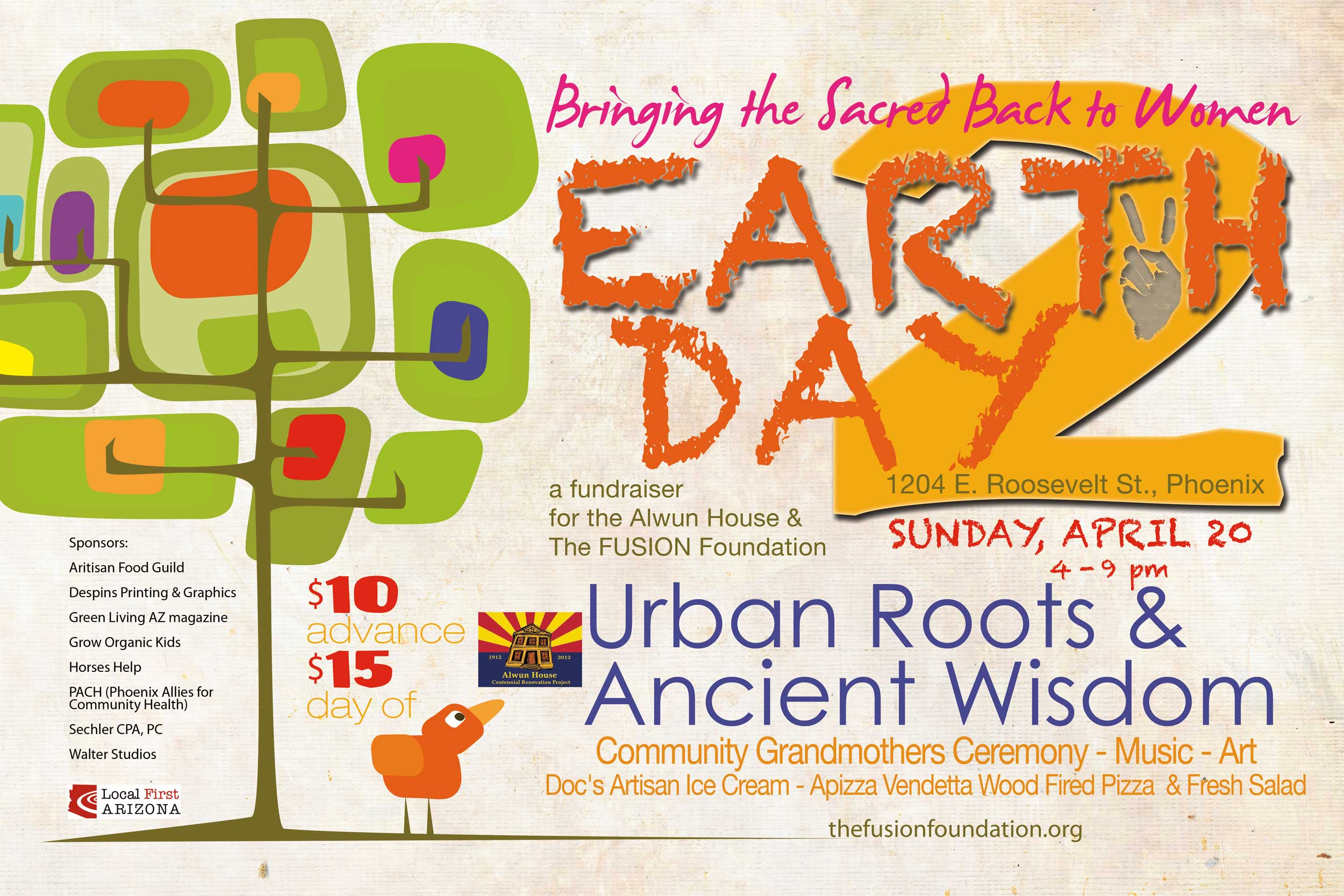 Earth Day 2014 Alwun House FUSION Foundation
