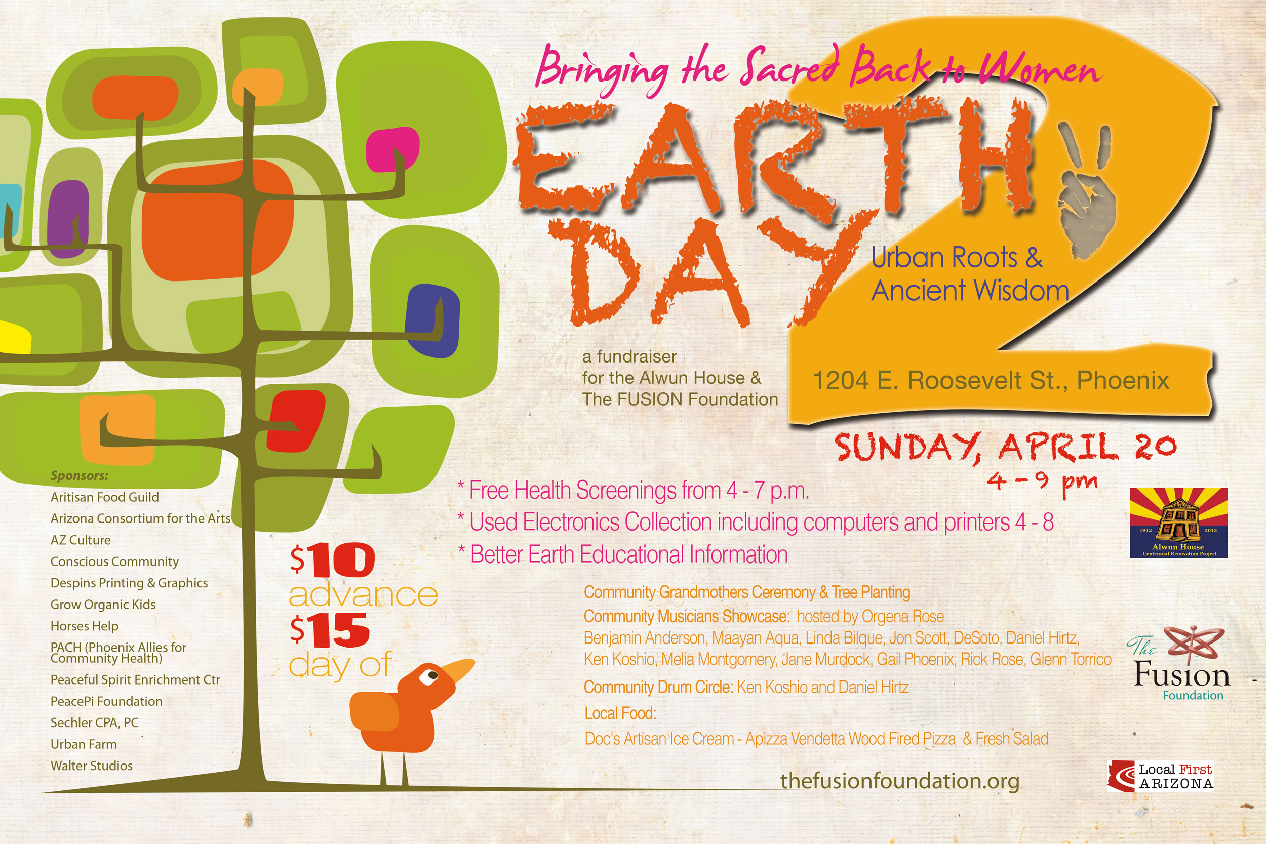 Earth Day 2014 Urban Roots Ancient Wisdom