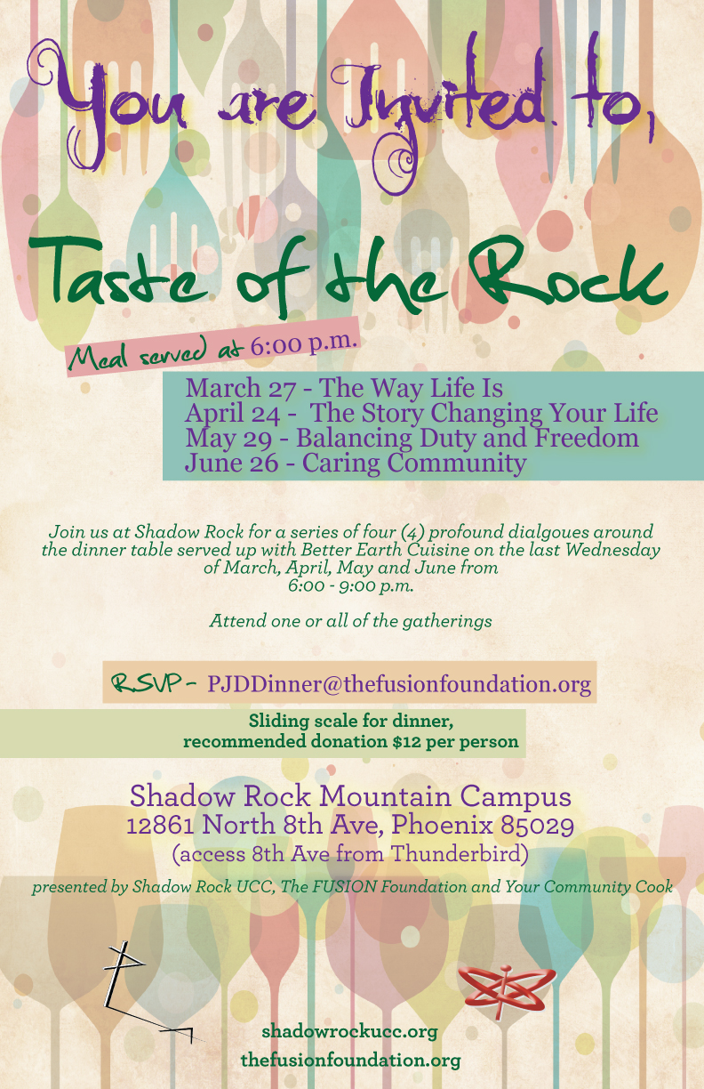 Taste of the Rock Community Dinner
