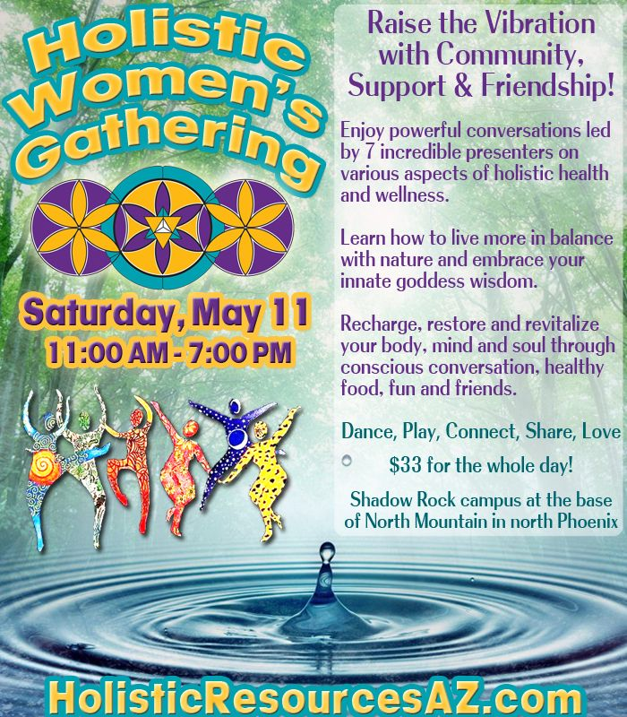 Holistic Women's Gathering Shadow Rock FUSION Foundaition