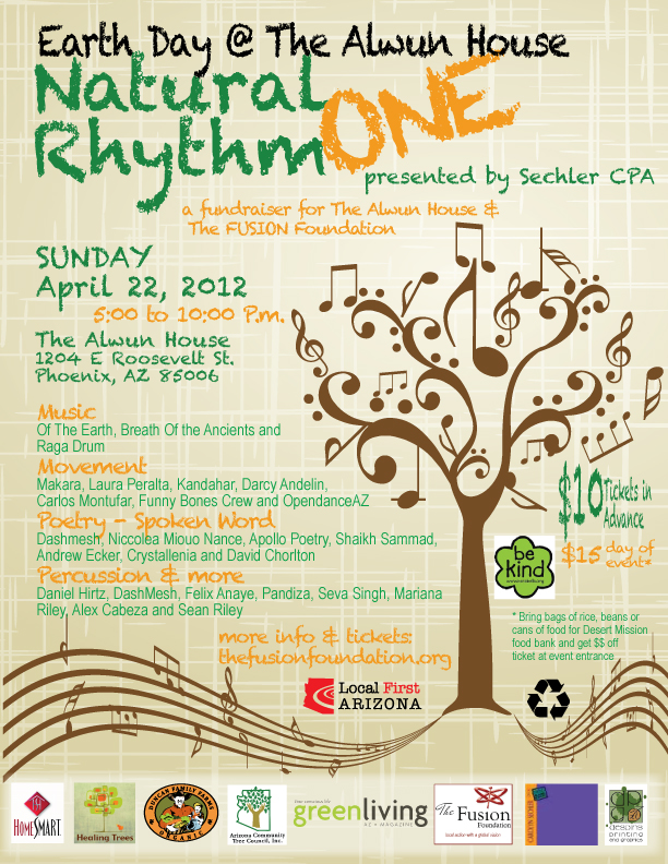 Earth Day 2012- Natural Rhythm One