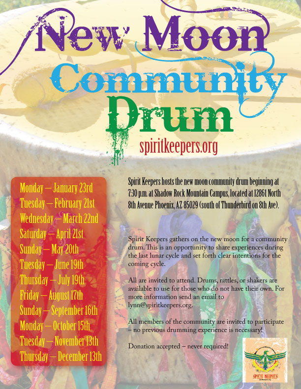 New Moon Community Drum