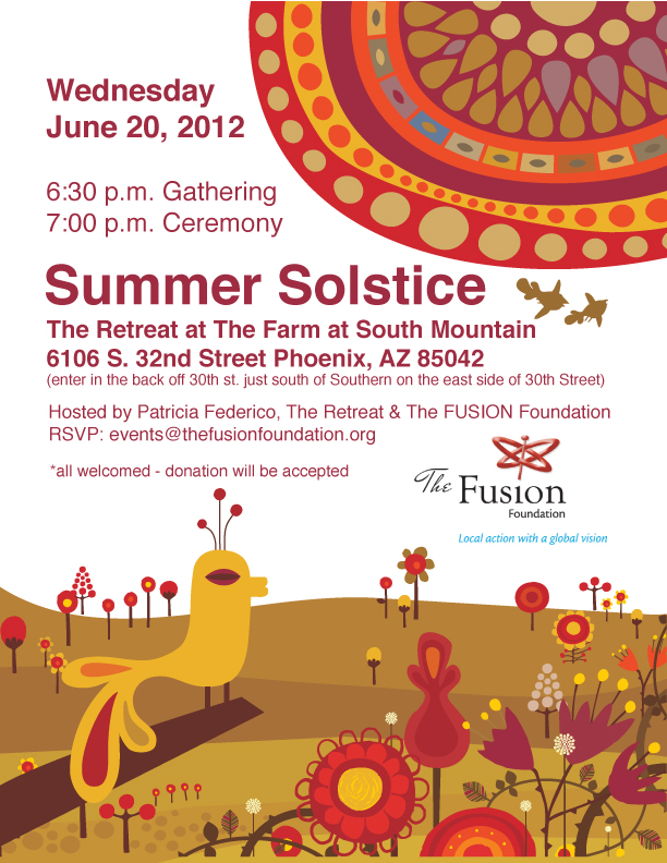 Summer Solstice 2012 The FUSION Foundation The Farm South Mountain