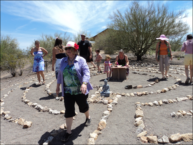 Peaceful Spirit Center Relay Labyrinth Walk